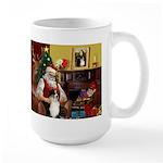 Santa's Aussie (Tri2) Large Mug
