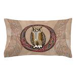 Celtic Owl Pillow Case