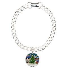 XmasMagic/Basenji #2 Bracelet