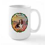 XmasMusic2MC/Basset Hound Large Mug