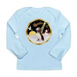 Night Flight/Beagle #2 Long Sleeve Infant T-Shirt