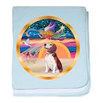 XmasStar/Beagle 2 baby blanket