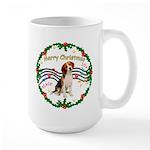 XmasMusic1MC/ Beagle Large Mug
