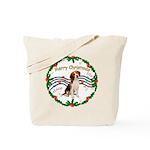 XmasMusic1MC/ Beagle Tote Bag