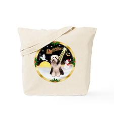 Night Flight/Beardie #1 Tote Bag