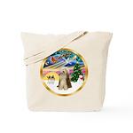 XmasMagic/Beardie #16 Tote Bag