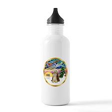 XmasMagic/Beardie #16 Water Bottle