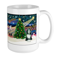 Xmas Magic & Beardie Mug