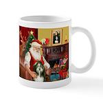 Santa's Bearded Collie Mug