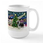 Xmas Magic & Beardie Large Mug