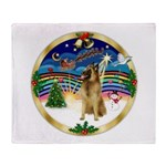 XmasMusic 3/Tervuren Throw Blanket