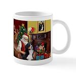 Santa's Home & Bernese Mug