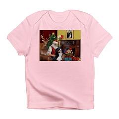 Santa's Home & Bernese Infant T-Shirt