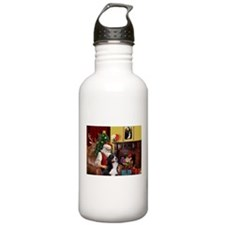 Santa's Home & Bernese Water Bottle
