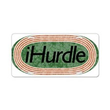 i hurdle Track and Field Aluminum License Plate