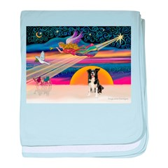 XmasStar/Border Collie #4 baby blanket