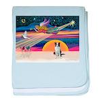 XmasStar/Border Collie baby blanket