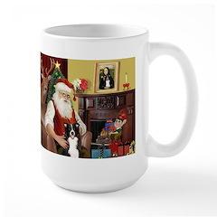Santa's Border Collie Mug