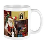 Santa's Border Collie Mug