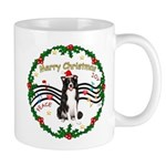 XmasMusic1MC/Border Collie Mug