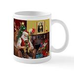 Santa's Border Terrier Mug