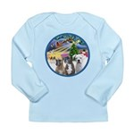 Xmas Magic / 3 Boxers Long Sleeve Infant T-Shirt