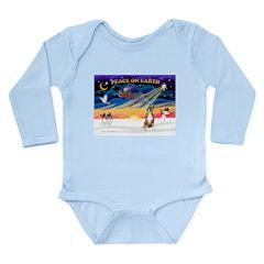 XmasSunrise/Boxer #! Long Sleeve Infant Bodysuit