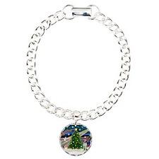Xmas Magic / Brittany Spaniel Bracelet