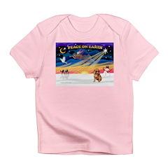 XmasSunrise/Brussels (brn) Infant T-Shirt