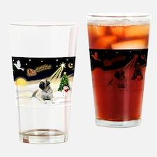 Night Flight/Mastiff 4 Drinking Glass