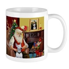 Santa's Bull Terrier Mug