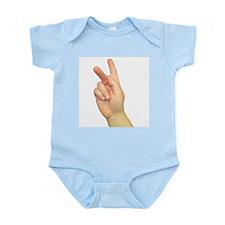 ASL Letter K Infant Creeper