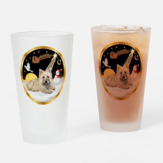 Night Flight/Cairn #4 Drinking Glass
