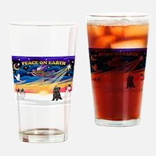 XmasSunrise/Cairn Ter #21 Drinking Glass