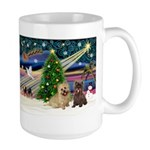 Xmas Magic & 2 Cairns Large Mug