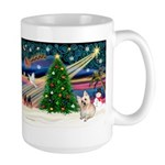 Xmas Magic & Cairn Terrier Large Mug