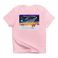 XmasSunrise/Cavalier #2 Infant T-Shirt