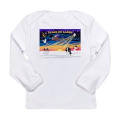 XmasSunrise/Cavalier #6 Long Sleeve Infant T-Shirt