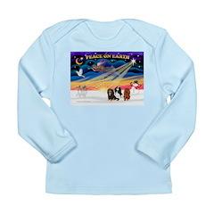 XmasSunrise/3 Cavaliers Long Sleeve Infant T-Shirt
