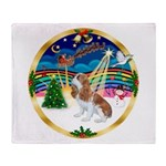 XmasMusic 3/Cavalier F1 Throw Blanket