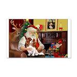 Santa's Cavalier (BL) 22x14 Wall Peel