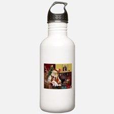 Santa's Cavalier (BL) Water Bottle