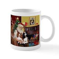 Santa's 2 Cavaliers Mug