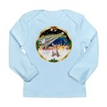 XmasSunrise/Chihuahua #1 Long Sleeve Infant T-Shir