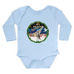 XmasSunrise/Chihuahua Long Sleeve Infant Bodysuit