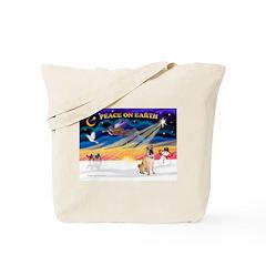 XmasSunrise/Shar Pei 5 Tote Bag