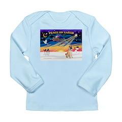 XmasSunrise/Shar Pei 5 Long Sleeve Infant T-Shirt