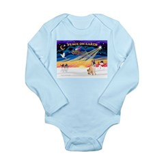 XmasSunrise/Shar Pei 5 Long Sleeve Infant Bodysuit