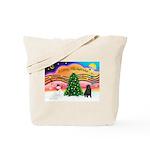 XmasMusic2/Shar Pei Tote Bag