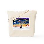 XmasSunrise/Shar Pei Tote Bag